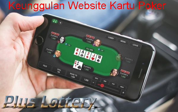 Keunggulan Website Kartu Poker